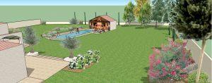 Projet de la piscine en 3D